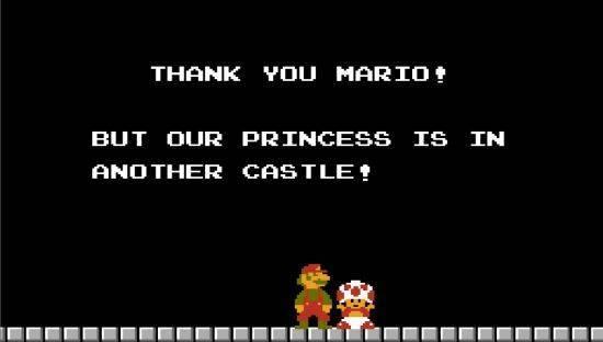 juego mario bros salvar castillo:
