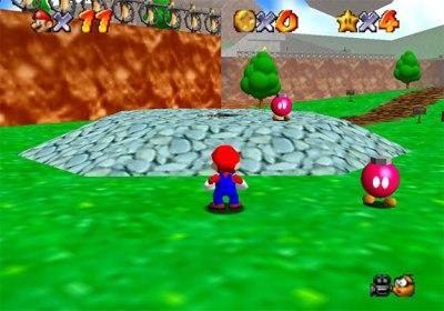 Aquí tenemos un Super Mario en condiciones