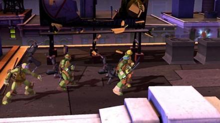 Teenage Mutant Ninja Turtles Xbox360