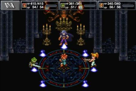 chrono trigger battle