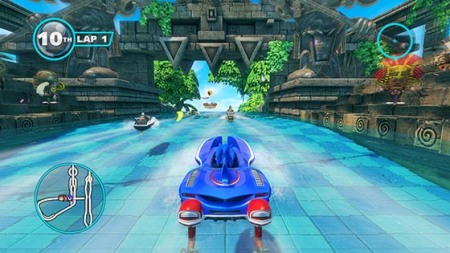 Sonic & All Stars Racing Transformed scan