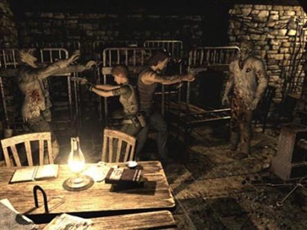 Resident Evil Zero Back 2