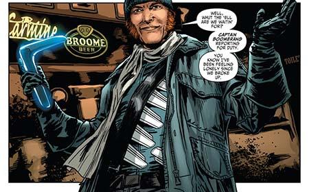 captain boomerang DC