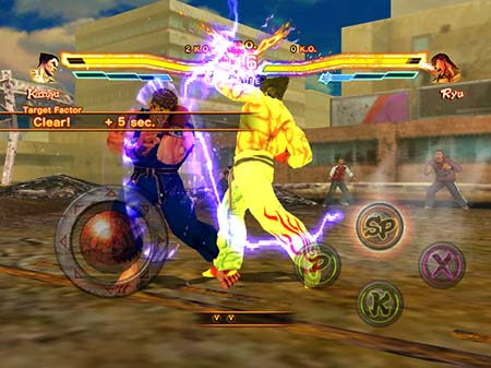 street fighter x tekken gauntlet iOS