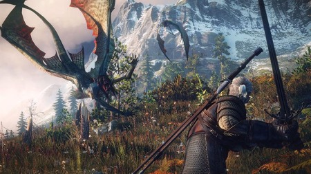 The Witcher 3 Wild Hunt Dragon