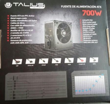 Talius 700W caja box