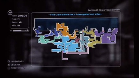 Shadow Complex Map