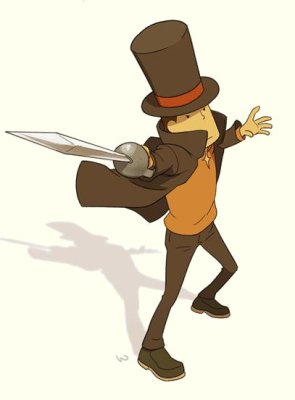 Anton_vs_Professor_Layton_by_wredwrat