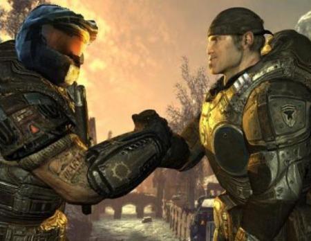 Halo Gears of War Juntos Microsoft Xbox Alianza